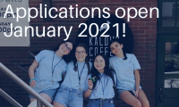 Applications open January 2021